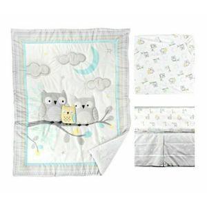 Parent's Choice Owl Nursery 3pc Set Comforter